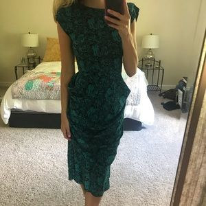 Vintage Cocktail Dress Size Small